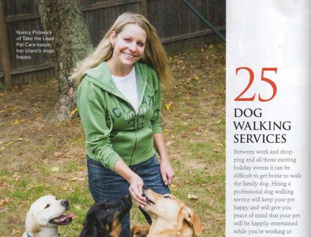 Nancy Pickwick, pet care specialist